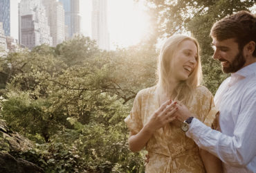 Denisa a Nick randili v Central Parku