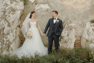 Wedding film of Darja and Antonin full of love and emotions