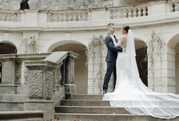 Elegant wedding film of Tereza and Bohumir in Prague