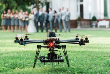 Letecké záběry dronem na svatbě? Rozhodně ano!